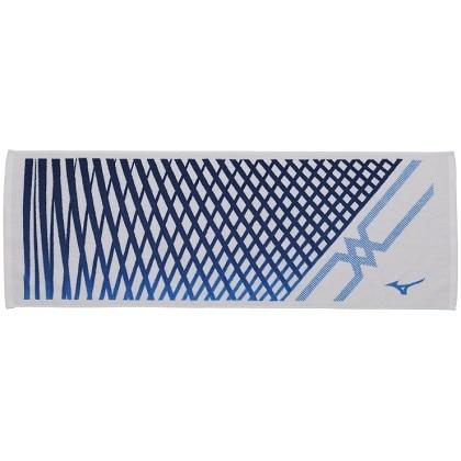 今治製スポーツタオル(箱入り) [MC-LINE] ホワイト×ブルー