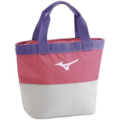 クーラートートバッグS ピンク×パープル