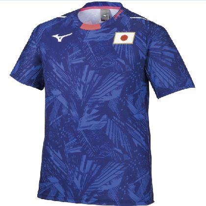 応援Tシャツ[ユニセックス] ブルー・XL