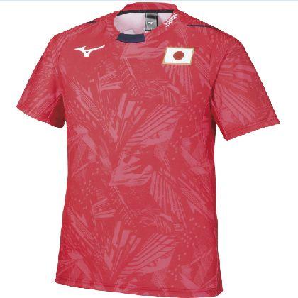 応援Tシャツ[ユニセックス] レッド・XS