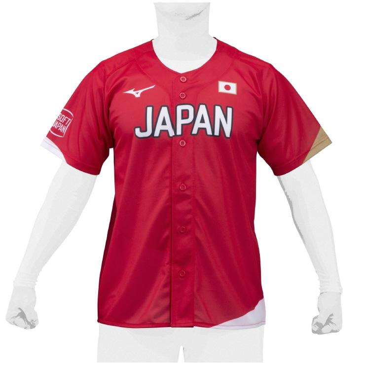 SOFT JAPANレプリカユニフォーム[ユニセックス] 番号無し