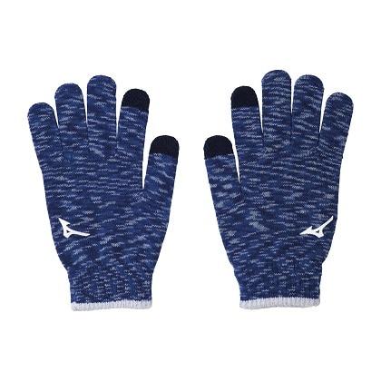 手袋(タッチパネル対応) [ユニセックス] ブルー