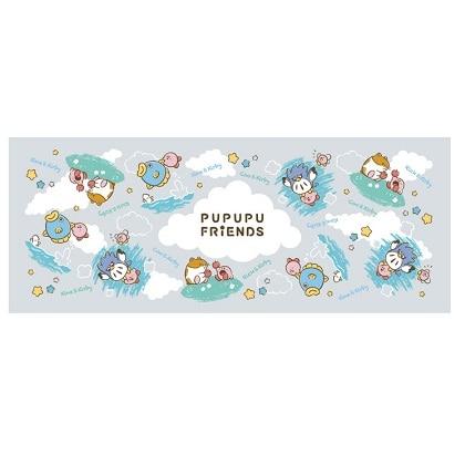 星のカービィ プププ・フレンズ フェイスタオル/カービィと仲間たち