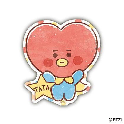 トラベルステッカー BABY TATA