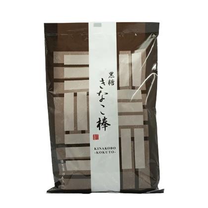 ゆかり堂製菓 角館駄菓子 黒糖きなこ棒 15本入