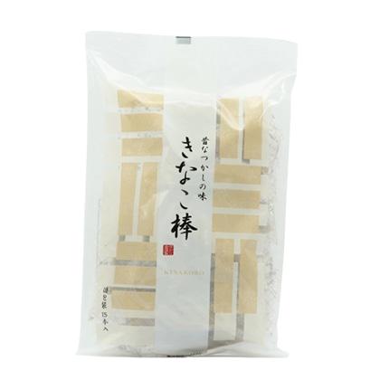 ゆかり堂製菓 角館駄菓子 きなこ棒15本入