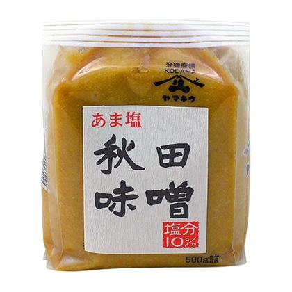 ヤマキウ あま塩 秋田味噌 500g