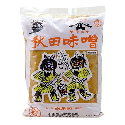 ヤマキウ 秋田味噌 なまはげ(粒味噌) 1kg
