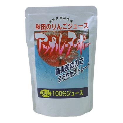 秋田りんご村 秋田のリンゴジュースアップルヌーボー 〜ふじ〜