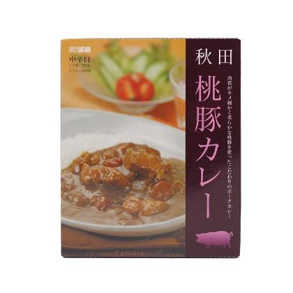 秋田味商 桃豚カレー 中辛