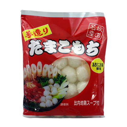 渡辺食品工業 手造りだまこもち 比内地鶏スープ付