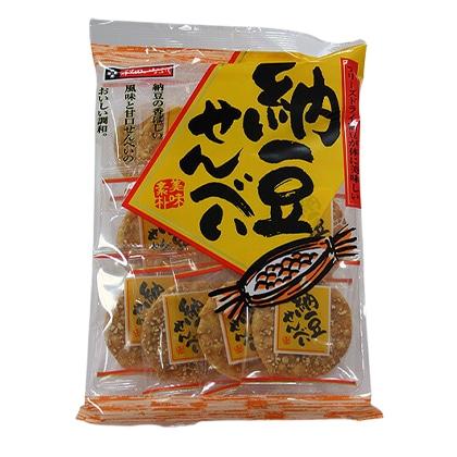 秋田いなふく米菓 納豆せんべい