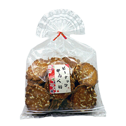 フジタ製菓 ピーナッツせんべい 140g