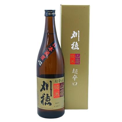 刈穂酒造 刈穂 山廃純米 超辛口 720ml