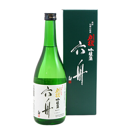 刈穂酒造 吟醸酒 六舟 720ml