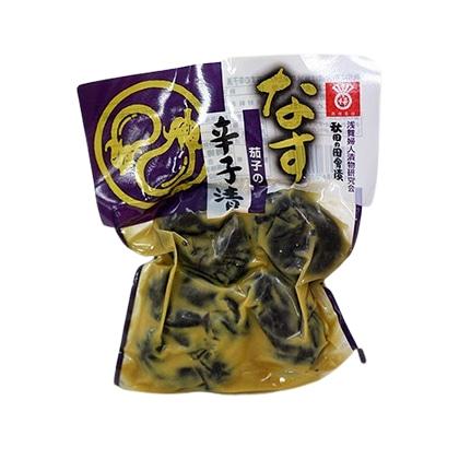 浅舞婦人漬物研究会 秋田の田舎漬け 茄子の辛子漬