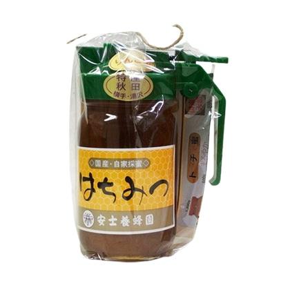 安士養蜂園はちみつ りんご蜜 300g ピッチャー入
