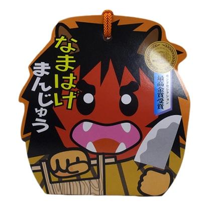フジタ製菓 なまはげまんじゅう キャラクターパッケージ6個入