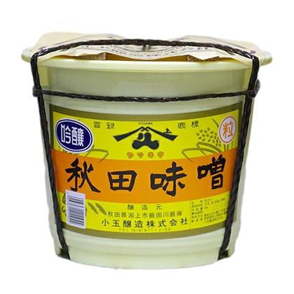 ヤマキウ 吟醸 秋田味噌 4kg
