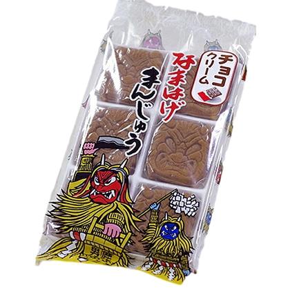 フジタ製菓 なまはげまんじゅう チョコクリーム 6個入