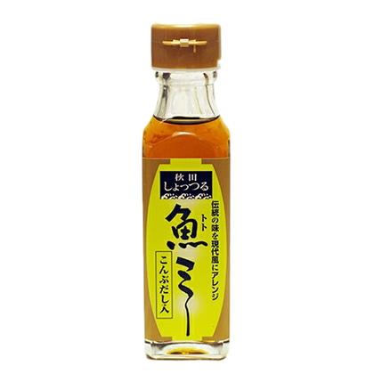 諸井醸造所 秋田しょっつる こんぶだし入り魚ミー(トトミー)130g