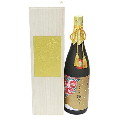 齋彌酒造 雪の茅舎 純米大吟醸 聴雪(ちょうせつ)1.8L