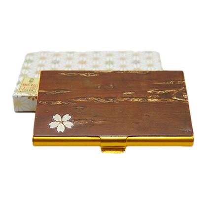 八柳 樺細工 カードケース桜