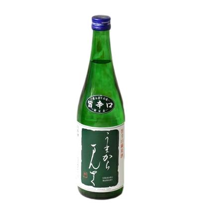 日の丸醸造 旨辛口純米酒 うまからまんさく 720ml