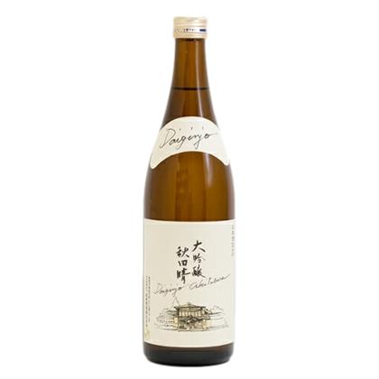 秋田酒造 秋田晴 大吟醸 1.8L