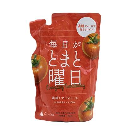 ダイセン創農 秋田県産トマト100% 濃縮トマトジュース「毎日がトマト曜日」150g