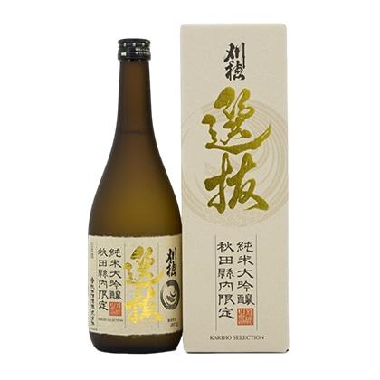 秋田清酒 刈穂 選抜 純米大吟醸 720ml