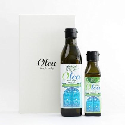 チュニジア産高級オリーブオイルギフトセット 早摘み90g 通常270g ol-001