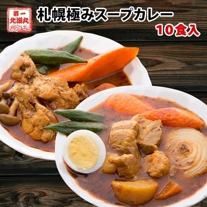 札幌極みスープカレー 10食 豚角煮5食 チキン5食 ib-011