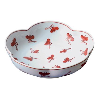 源右衛門窯 梅形鉢