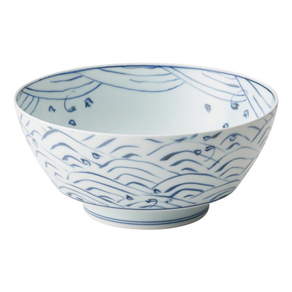究極のラーメン鉢 青海波