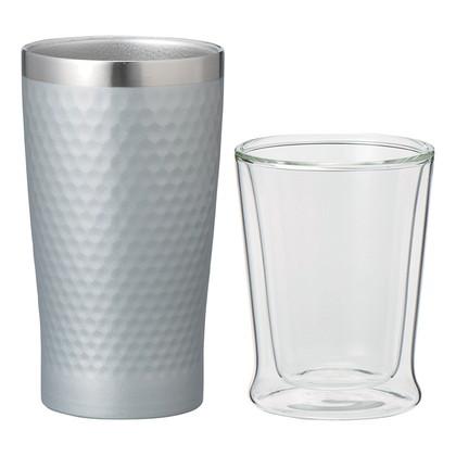 ミックスペアサーモカップ シルバー