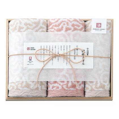 今治謹製 紋織タオル タオルセット ピンク