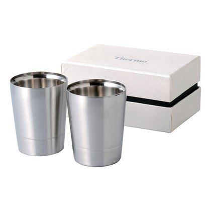 サーモ ペア二重ロックカップ