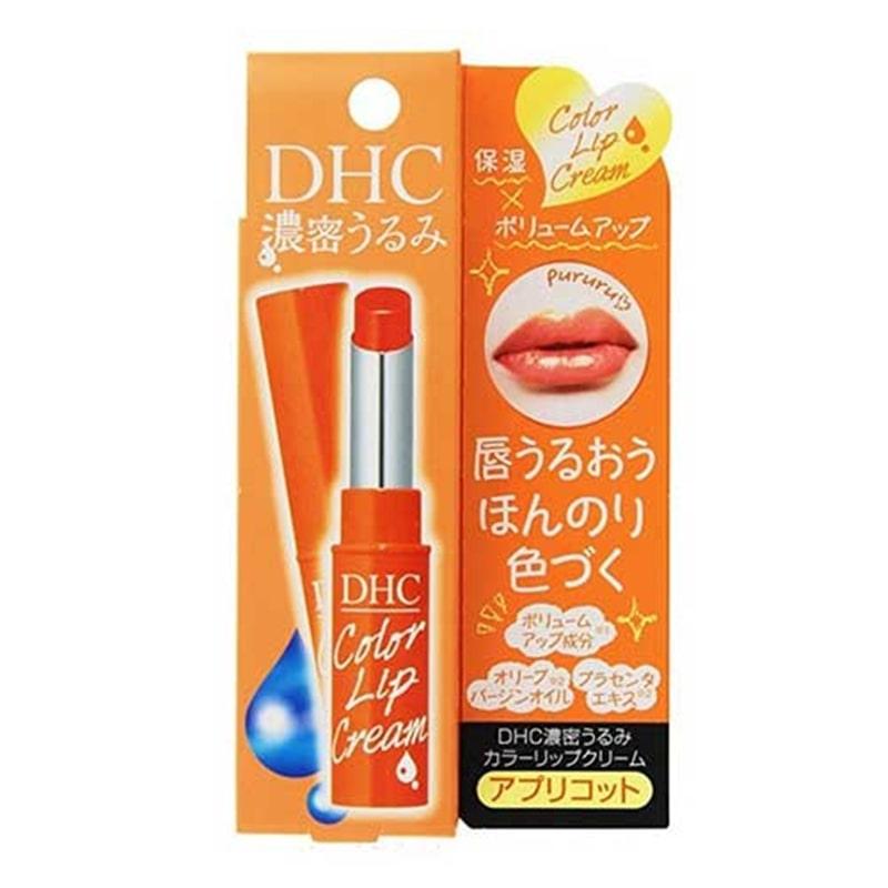 DHC 濃密うるみ カラーリップクリーム アプリコット