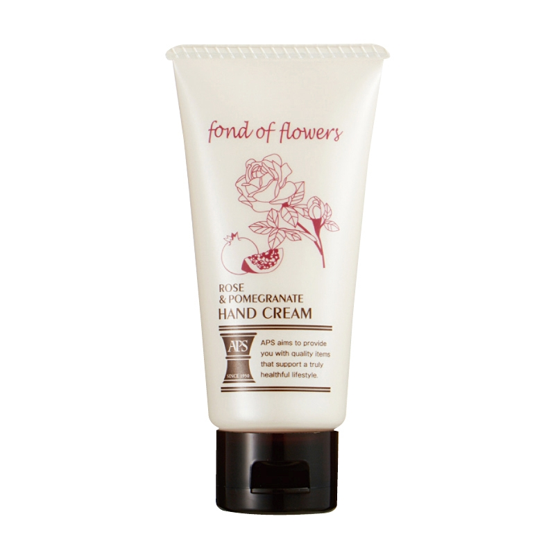 APS ハンドクリーム ローズ&ポメグラネイトの香り