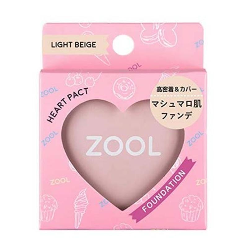 ZOOL ハートパクト ライトベージュ