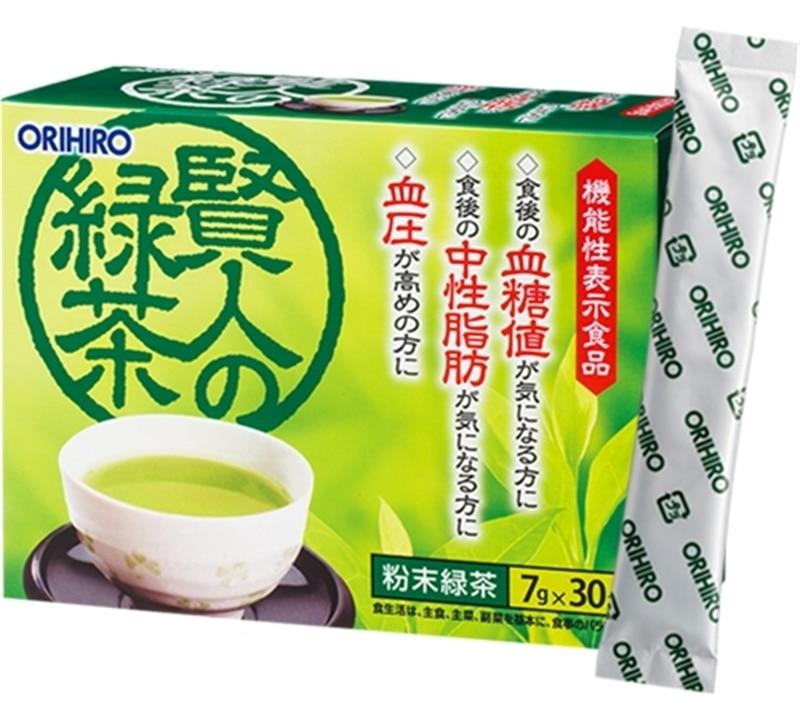 賢者の緑茶
