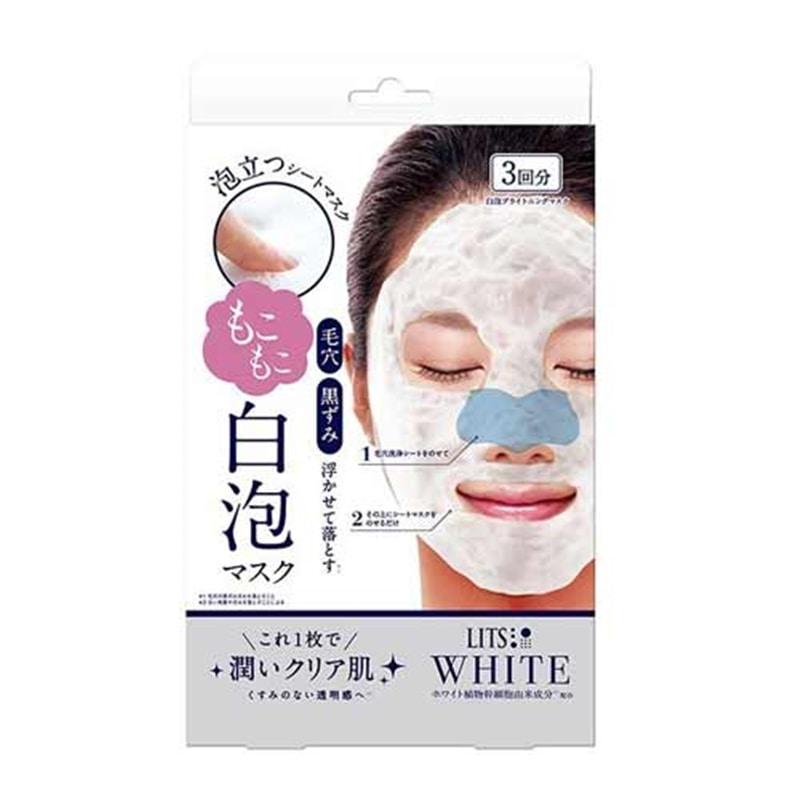 リッツ ホワイト もこもこ白泡マスク 3枚