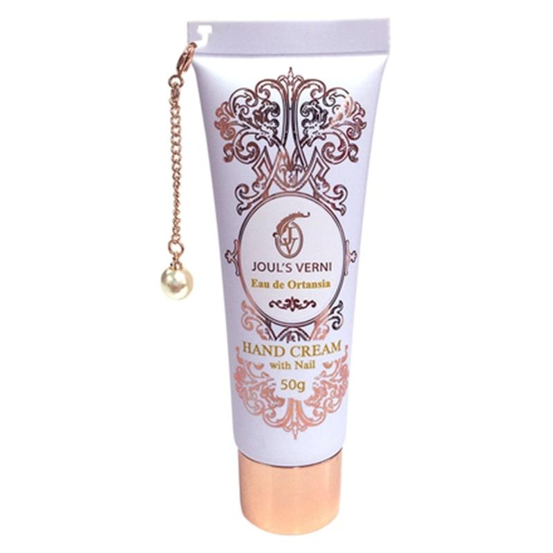 ジュールベルニ フレグランスハンドクリームウィズネイル オーデ オルタンシアの香り