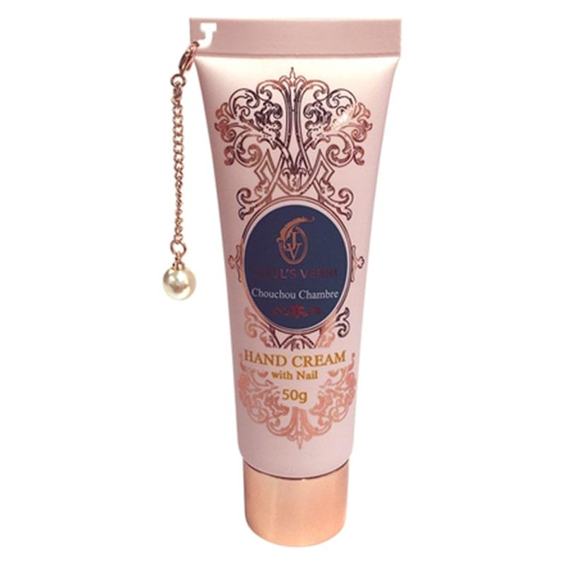 ジュールベルニ フレグランスハンドクリームウィズネイル シュシュ シャンブレの香り