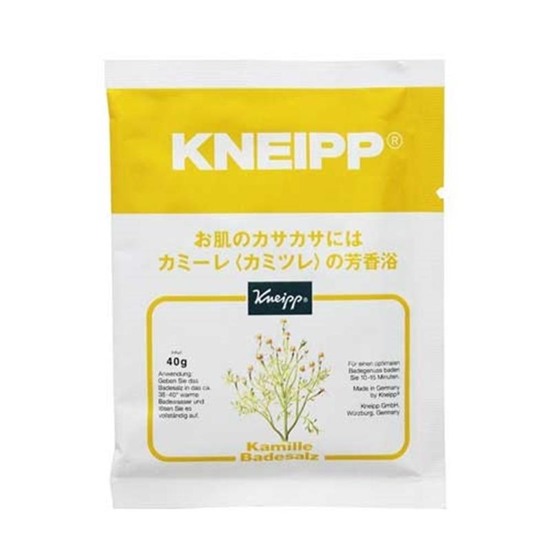 クナイプ バスソルト カミーレ(カミツレ)の香り 分包