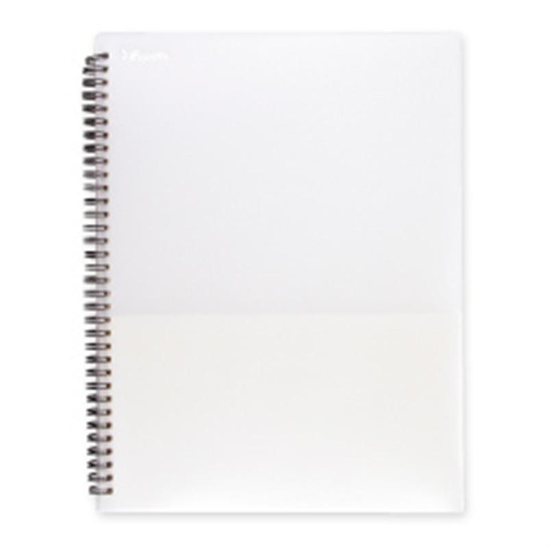 エセルテ 8ポケットファイル パールホワイト