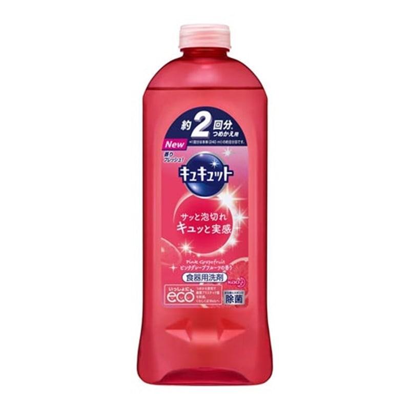 キュキュット ピンクグレープフルーツの香り つめかえ用 385ml