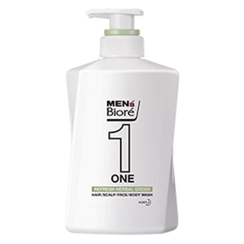 メンズビオレONE 爽やかなハーバルグリーンの香り 本体