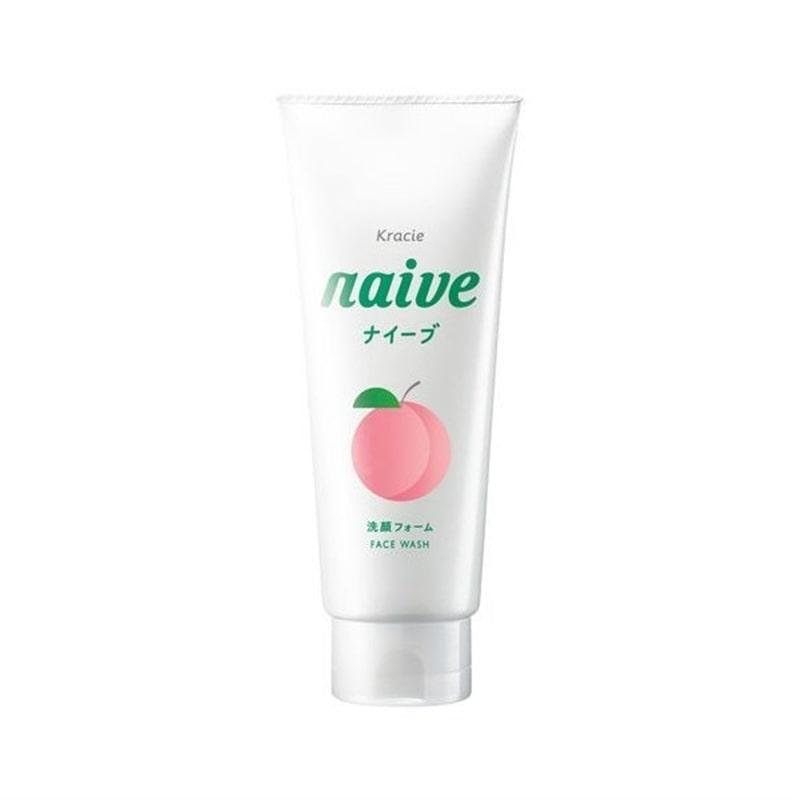 ナイーブ 洗顔フォーム 桃の葉エキス配合